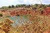 Lago Rosso - Cava di Bauxite by cosimo.miraglia