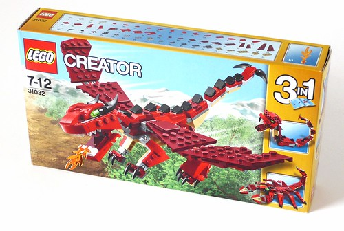 LEGO Creator 31032 Red Creatures box01