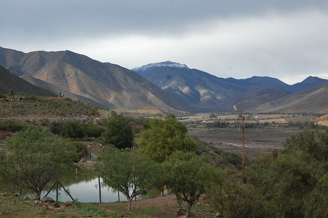 Cloudy Days in Gualliguaica, Valle de Elqui