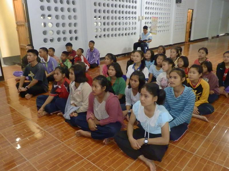 อบรมเด็กและเยาวชน เรื่องสมณสาส์น Laudato Si