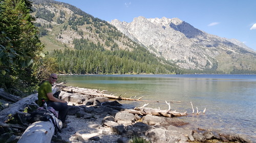 Lunch by Jenny Lake