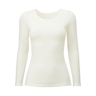 UNIQLO - WOMEN HEATTECH CREW NECK LONG SLEEVE T-SHIRT