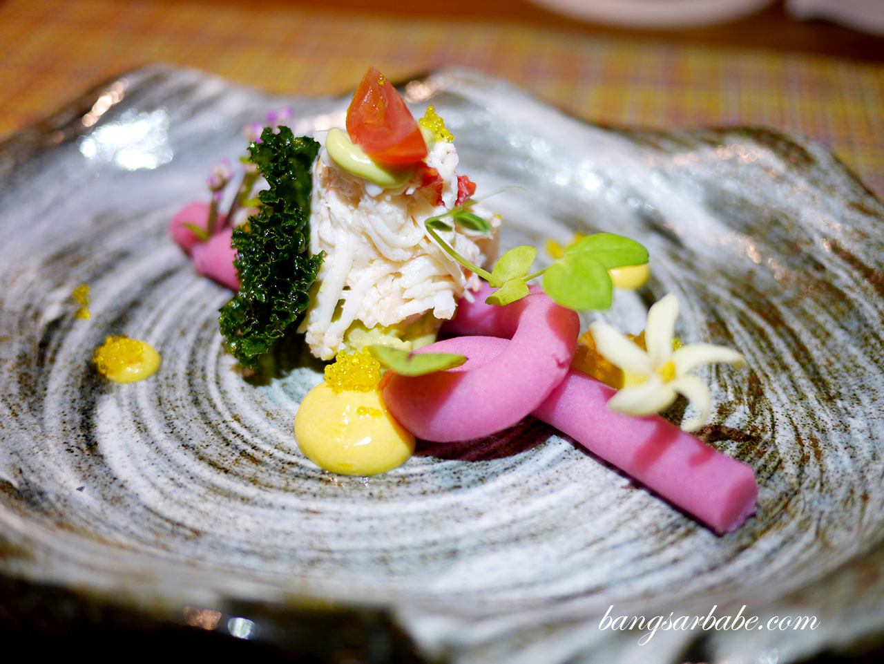 King Crab Causa