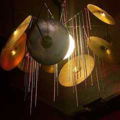 musical instrument(0.0), macro photography(0.0), drums(0.0), drum(0.0), yellow(1.0), light(1.0), cymbal(1.0), lighting(1.0),