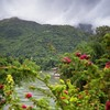River Khwae Noi  among the most beautiful mountains in Kanchanaburi. by B℮n
