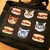 Cat Burger Satchel by stecki3d