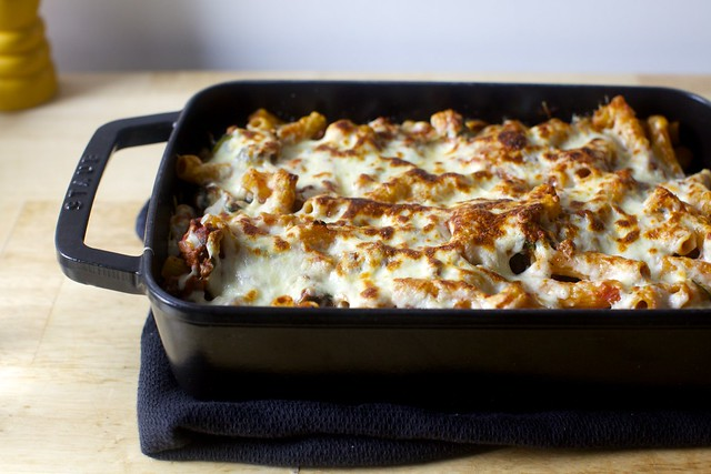 old-school baked ziti