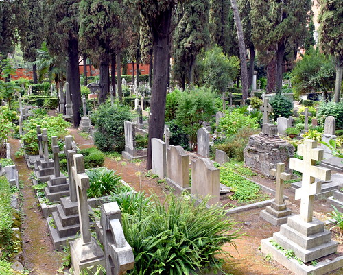 View of Non-Catholic Cemetery