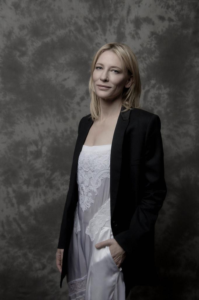 Кейт Бланшетт — Фотосессия для «Кэрол» на «BFI» 2015 – 3