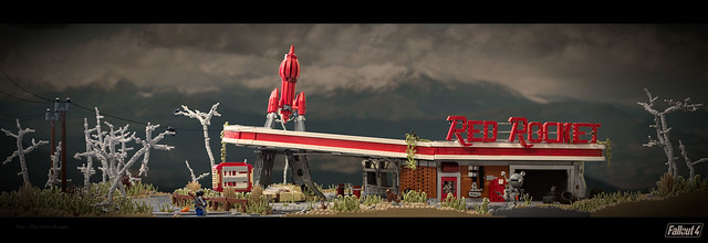 Fallout 4: Red Rocket Gas Station