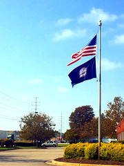 Flags at the DEQ