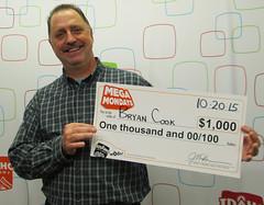 Bryan Cook - $1,000 Mega Mondays