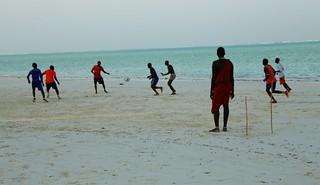 Masai goalkeeper, Jambiani