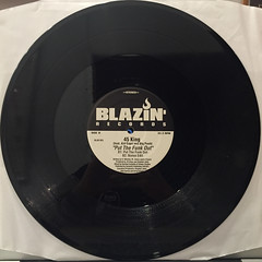 45 KING:LATI ROCKS DA BELLS(RECORD SIDE-B)