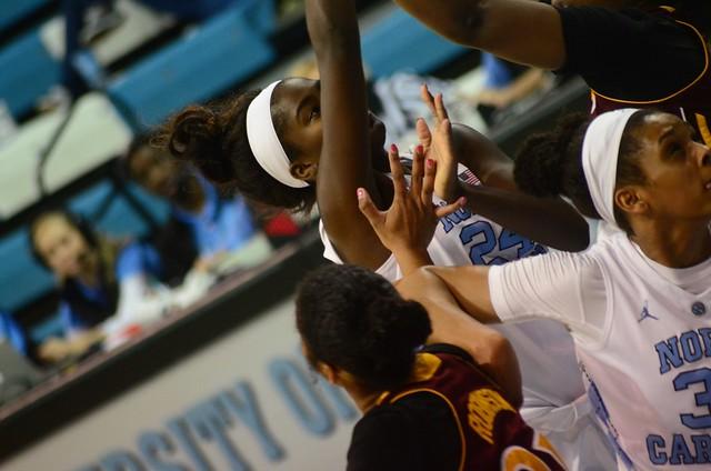 basketball: iona @ unc