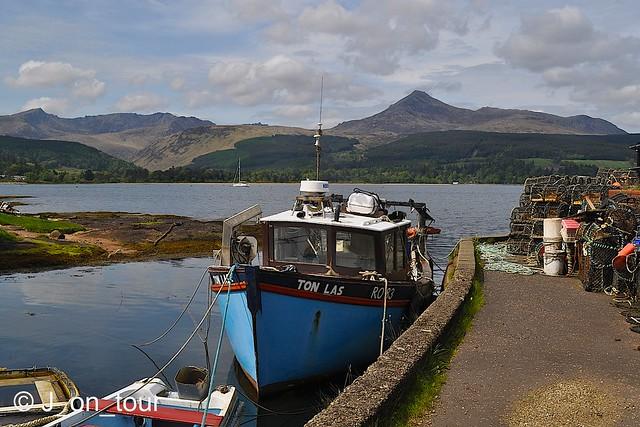 Boat & Goatfell  GJC_017217