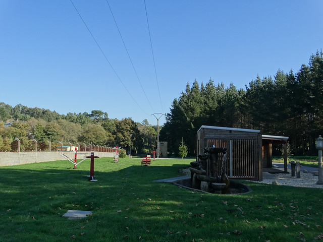 Parque en Guitiriz