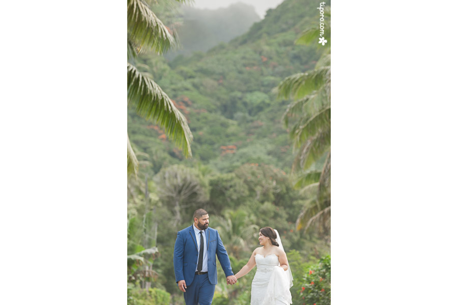 Avana Valley. wedding photos Rarotonga