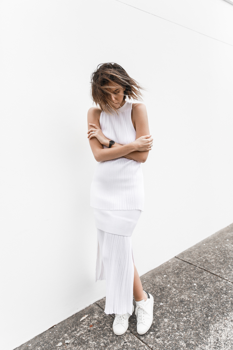 all white street style resort summer josh goot weekend inspo modern legacy (5 of 7)