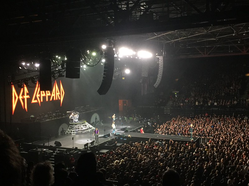 Def Leppard live at the Genting Arena 2015