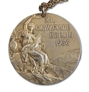 Carl Shy Olympic medal