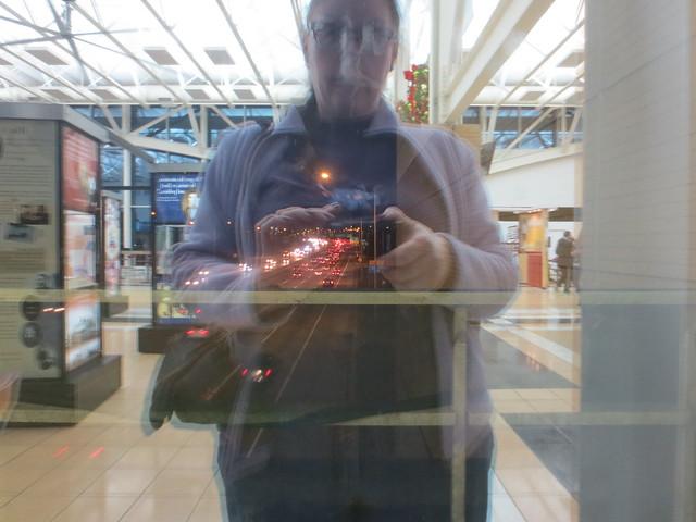 Self portrait with Illinois Tollway