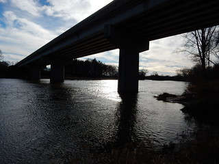 Riverside Cache - a view of the river 2