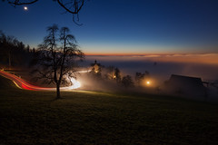 Over the fog