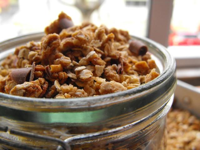 Granula de manteiga de amendoim