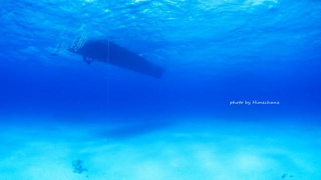 黒島ブルーに癒されに♪
