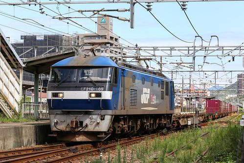 2016-09-21 JR Freight EF210-169 Hatabu Sanyo Line Freight