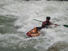 Dylan surfing the Rabioux Rapid Image