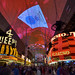 Fremont Street Expierence goes blue for Week of Respect