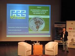 """Lançamento do livro """"Aglomerações e Arranjos Produtivos Locais no Rio Grande do Sul"""" (FEE 43 anos) - novembro/2016 - Rodrigo Morem da Costa"""