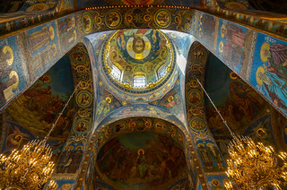 Church of the Spilled Blood in Saint Petersburg.