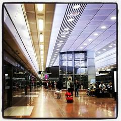 Stockholm City, pendeltågsstation. Lite space:at, tycker jag nog. #StockholmCity