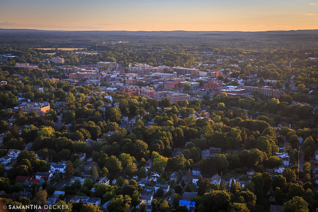 Looking Toward Downtown Saratoga