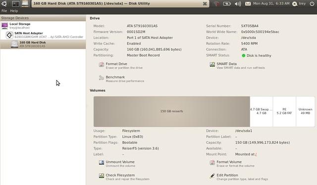 Asus Eee PC 1001HA korszerűsítése projekt #1