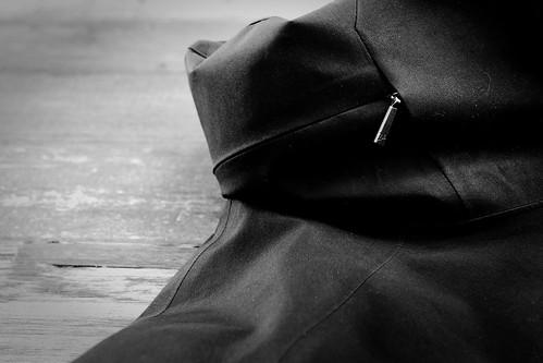 Arc'Teryx A2B Commuter Hardshell - StowHood zipper