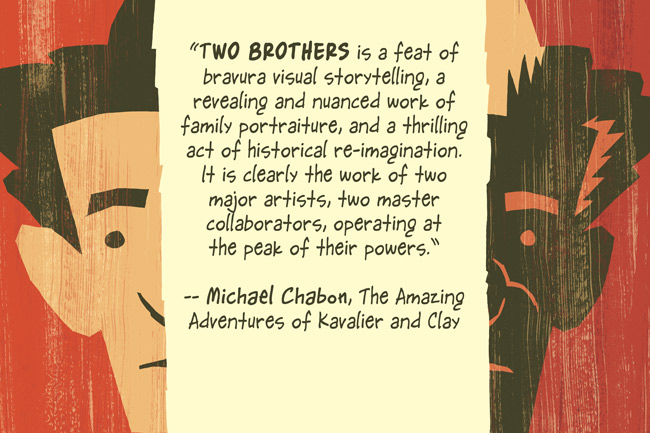 Two Brothers Chabon quote