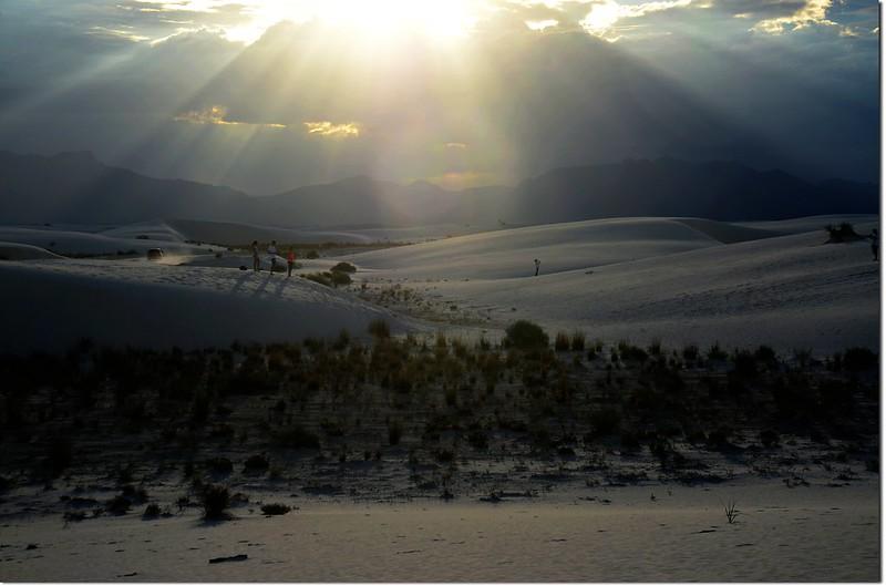 Sunset at White Sands National Monument 1