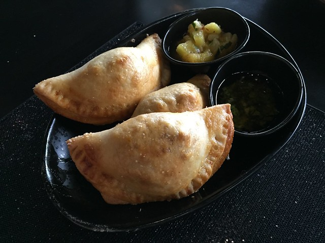 Chorizo and potato empanadas - Mariposa