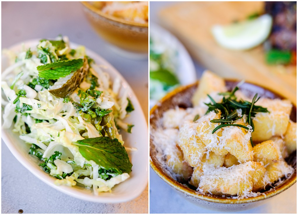 Jamie's Italian by Jamie Oliver's Crunchy Kale Slaw&Polenta Chips