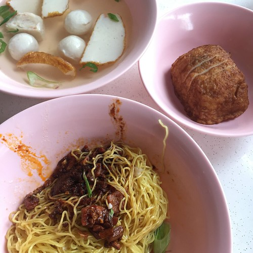 Whitley Road Fishball Noodles (Dry Meekia) - Aug 2015
