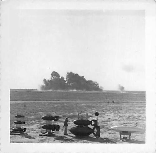 USAF military bomb test 1952?