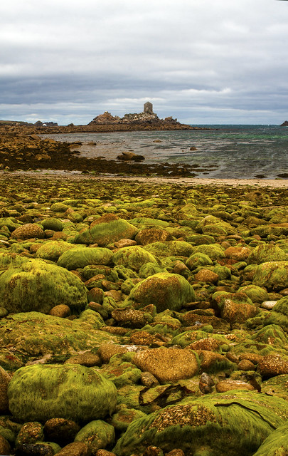 Bay - north of Perigilis Cove and west of the 'Big Pool', St Agnes, Isles of Scilly