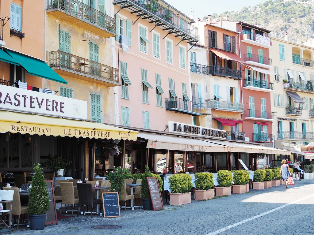 Villefranche-beachfront