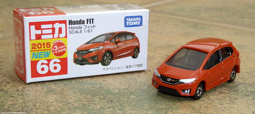 Tomica No. 66 Honda FIT