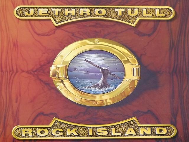 "JETHRO TULL ROCK ISLAND 12"" LP VINYL"