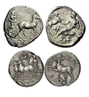 Messana Tetradrachms